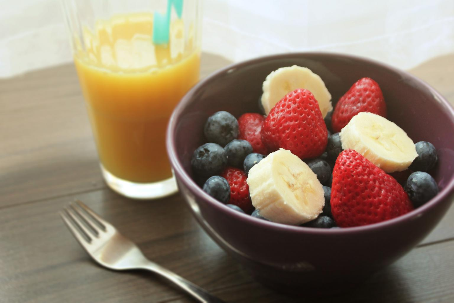 ovocie, džús